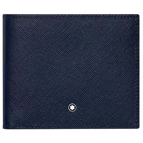 Brieftasche Münzbörse, Indigo (Mont Blanc Ring Für Männer)