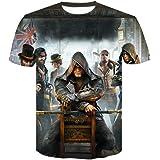 Tomb Raider Assassins Creed Mens Sweatshirts Patchwork Casual Hooded Sweatshirt Men 3D Printed Hoodies Men Coat