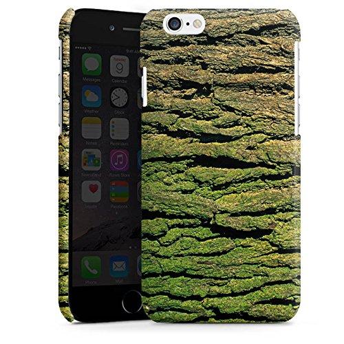 Apple iPhone 5s Housse Étui Protection Coque Écorce Look écorce Arbre bois Cas Premium brillant