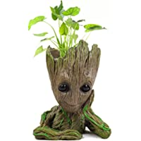 Pot de fleurs tendance Les Gardiens de la Galaxie avec bébé Groot, jolies figurines, modèle, jouet, pot de stylo, le…