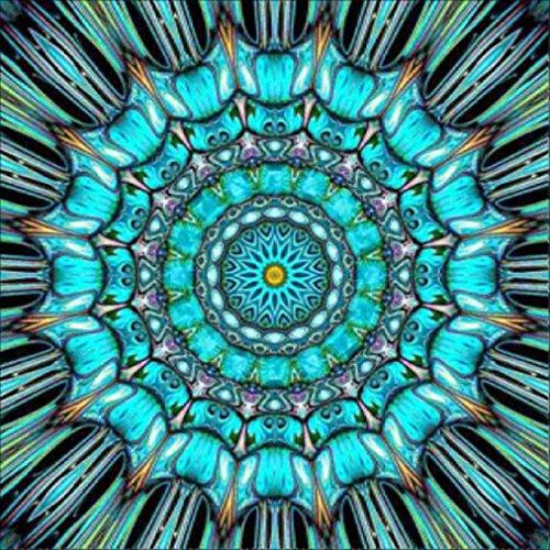 Kit completo de pintura de diamante 5D, VNEIRW India Mandala DIY colorido cristal Rhinestone Diamond Art pinturas, kit completo de arte de diamante, kit de punto de cruz para principiantes, Kit de bordado para manualidades para decoración de la pared del hogar, D, 25 x 25 cm
