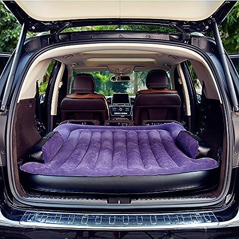 SUV Materasso Gonfiabile Matrimoniale - Gonfiabile Auto Materasso Ad Aria Macchina Materassino Airbed Piegare Materasso Gonfiabile Matrimoniale Comfort