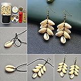 PandaHall 50 Stück Natürlichen Muschel Perlen Weiß für DIY Schmuck - 7
