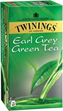 Twinings Green Tea and Earl Grey, 25 Tea Bags