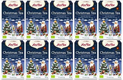 10 x Christmas Tee YOGI TEA BIO Christmas Tea (=10er Pack)   Gewürztee