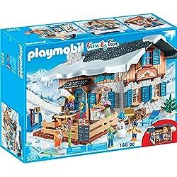 Playmobil-9280 Cabaña de Esquí, única (9280)