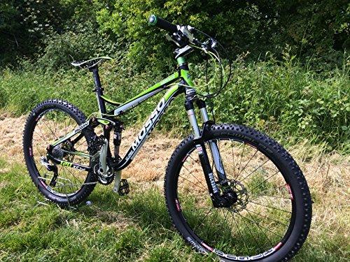 """Custom Mosso 669x C226""""XC Bicicleta de montaña con suspensión completa de 120mm"""