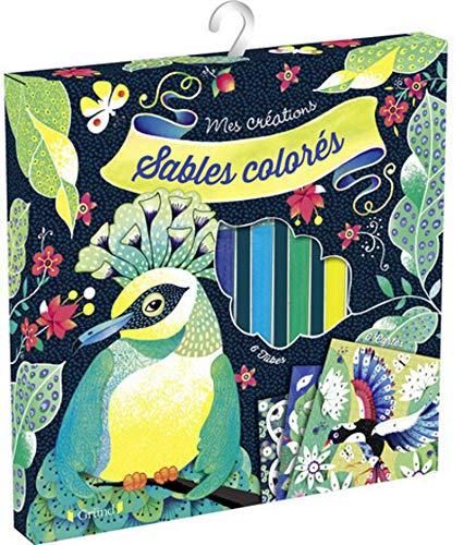 Sables colorés - Oiseaux de paradis par Anne CRESCI