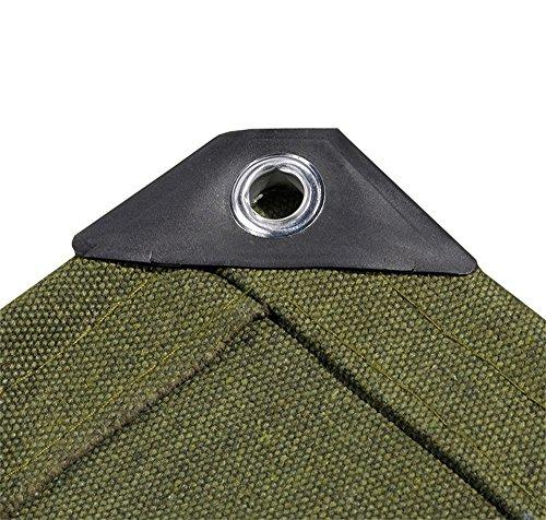 Wasserdichte Plane-Hochleistungsplane-starkes Segeltuch-im Freien kampierendes Schatten-Abdeckungs-Blatt-Plane-Sonnenschutz-Zelt - 750g / m², Stärke 1.67mm (größe : 3MX4M) -
