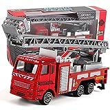 mxjeeio Spielzeug Auto,Feuerwehr Technik Toy Mining Car Truck Kinder Geburtstagsgeschenk, Magic Car Geschenk Für Childs Geschenke Jungen Mädchen