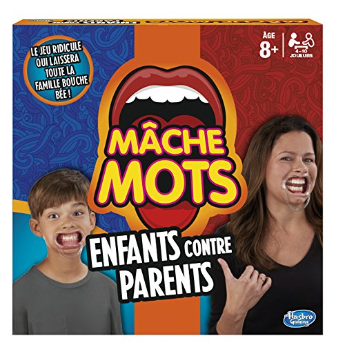 Hasbro Gaming - Mâche-Mots Enfants Contre Parents...