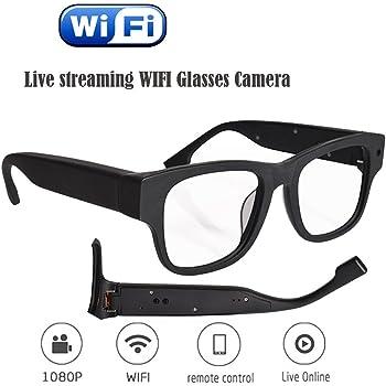 48ef40d7a1b MATECam Live Streaming Glasses Camera 30M WIFI Spy Glasses with Digital  Video Recorder (Spy Glass