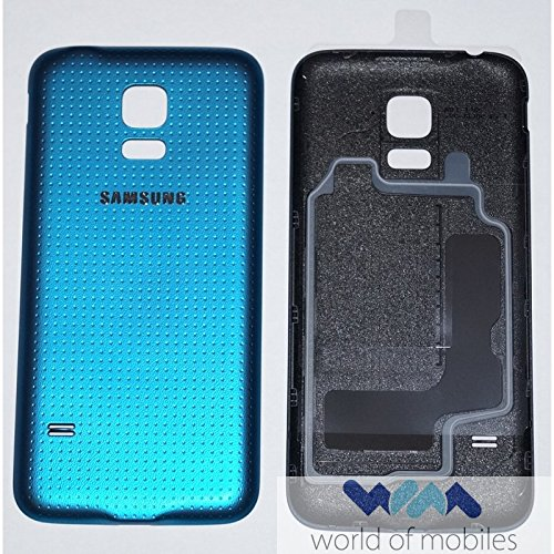 Samsung SM-G800F Galaxy S5 Mini Akkudeckel, Battery Cover, Blau, blue