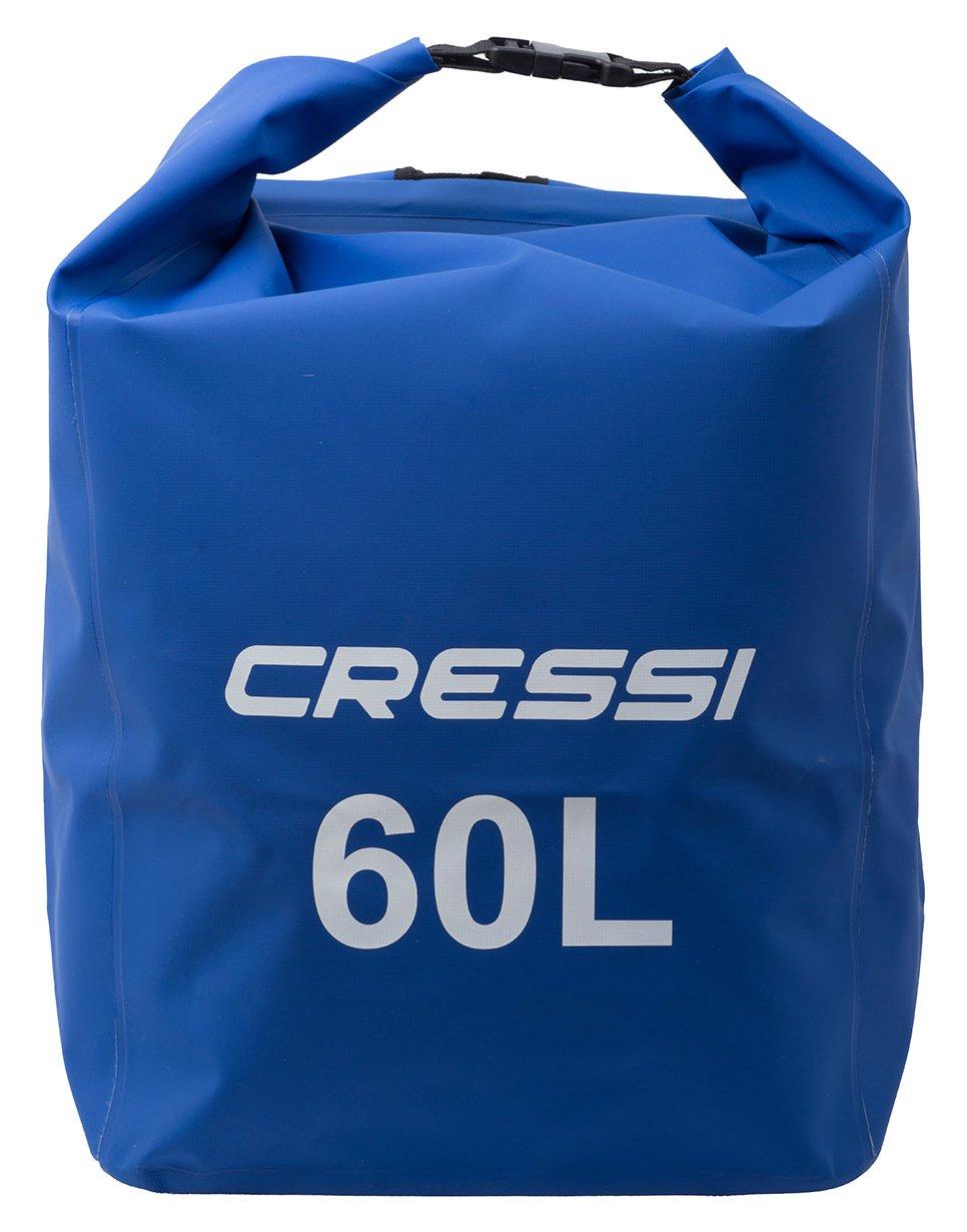 Cressi Sub S.p.A. Dry Back Pack Premium Sac à Dos 100% étanche Imperméable-Flottant Haute Qualité Mixte Adulte, , 60 L