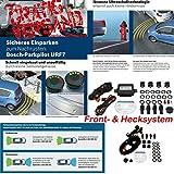 Kombi Front & Hecksystem Bosch 0263009565 Parkpilot URF7, optische und akkustische universal Einparkhilfe mit 4 Sensoren & Bosch 0263009566 Parkpilot URF 7 Frontsystem, optische und akkustische universal Einparkhilfe mit 4 Sensoren in Erstausrüsterqualität