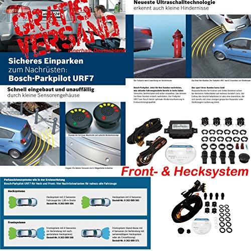 *Bosch 0263009565 Parkpilot URF7 Hecksystem & Bosch 0263009566 Parkpilot URF 7 Frontsystem*