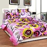 Soni Traders Pink Rangoli Design Pure Co...