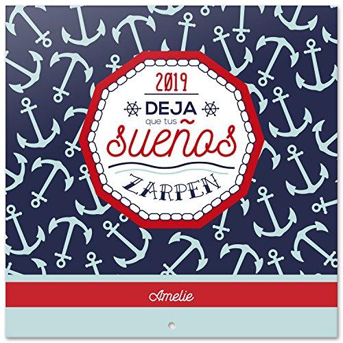 Grupo Erik Editores Amelie - Calendario 2019 Marinero, 30 x 30 cm