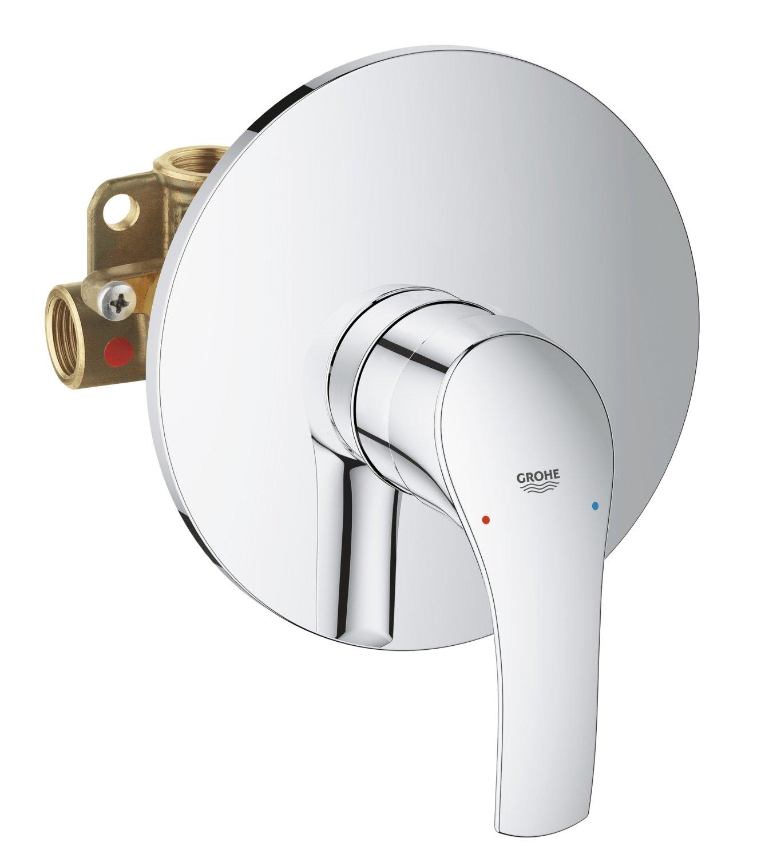 Grohe 33556002 Eurosmart New Miscelatore Monocomando per Doccia ad Incasso, Cromo