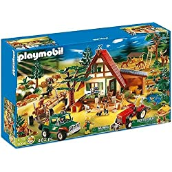 Playmobil 5004 - Mega set casa nella foresta