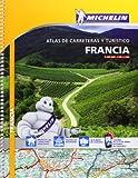 Atlas De Carreteras Y Turístico Francia (Atlas de carreteras Michelin)