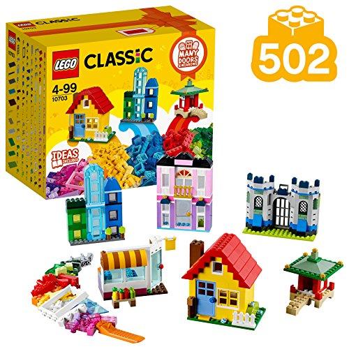 LEGO Classic 10703 - Kreativ-Bauset Gebäude, Baukästen