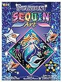 KSG 8161013 - Stardust Sequin Art-Meerjungfrau, ca. 27 x 27 cm