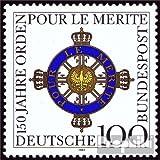 Prophila BRD (BR.Deutschland) 1613 (kompl.Ausg.) 1992 Pour le merite (Briefmarken für Sammler)