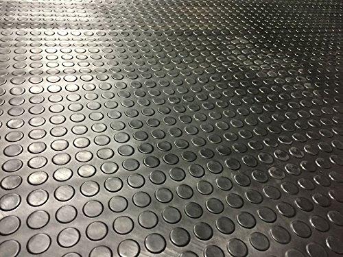 Coin Rubber Garage Flooring Matt...