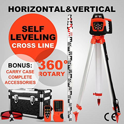 vevor-rotary-laser-level-self-leveling-rotating-laser-level-rotary-laser-level-kit-red-beam-with-tri