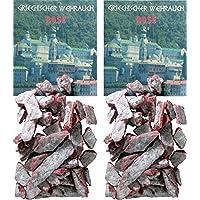 Trimontium GWR06-P2 Räucherwerk - griechischer Weihrauch Stücke Rose 2 x 25 g zum Räuchern auf Kohle oder Sieb preisvergleich bei billige-tabletten.eu