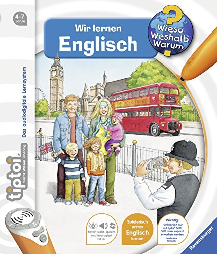 tiptoi® Wir lernen Englisch: Mit über 1.500 Sounds (tiptoi® Wieso? Weshalb? Warum?, Band 5)