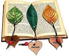 Idea Regalo - Set 3 segnalibri, Preferiti personalizzati, Segnalibro personalizzato, Accessori per libri, Amore del libro, Ringraziamento regalo, Nome segnalibro, Regalo di graduazione