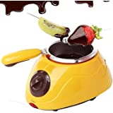 DHARM Plastic Chocolate Melting Pot With Molds And Accessories, Multicolour