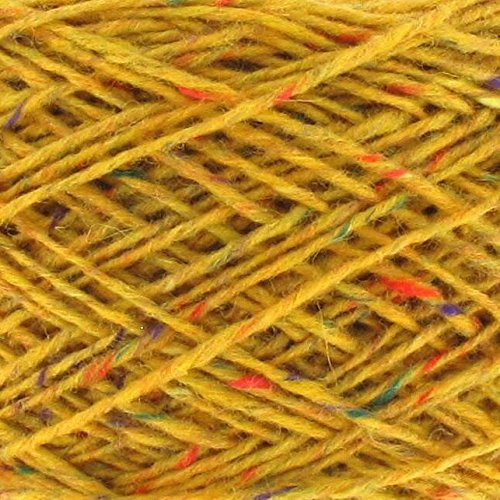 Next Yarns Chunky Tweed 250g Kone Farbe 34728 sonnengelb -