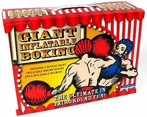 Jeu de Boxe Gonflable Géant (avec Gants et Protège-tête)