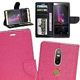 Zaoma Diary Type Flip Cover for Lenovo Phab 2 Plus – Pink