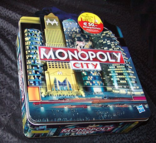 Monopoly City in der Blechbüchse - mit 2 Sondergebäuden