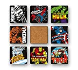 Marvel Comics - Super-héros Ensemble de sous-verres - Ensemble de 8 dessous de verre - multicolore - Design original sous licence - Logoshirt