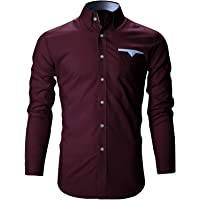 SRETAN Men's Regular Fit Casual Shirt
