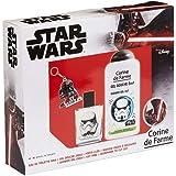 Corine De Farme   Stormtrooper Coffret Cadeau   Star Wars  Parfum Enfant 50ml   Gel Douche Enfant 250ml   Porte-clés   Fabriq