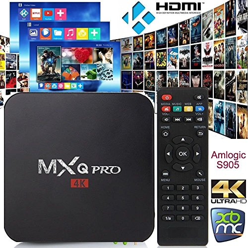 URBON MXQ Pro TV Box - Android 5 1 with All Channels Amlogic S905