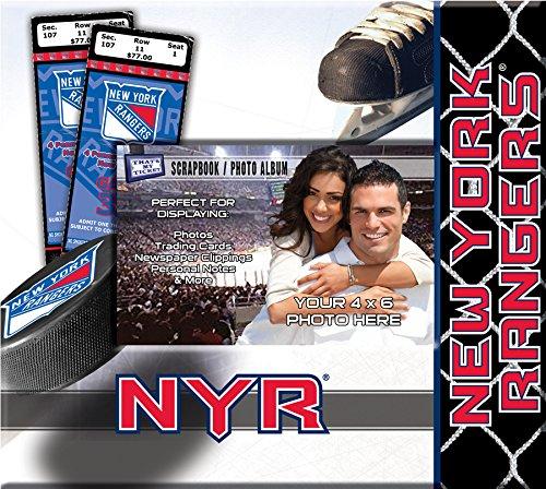 That's My Ticket NHL Scrapbook, Unisex-Erwachsene, weiß, Small