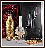 Exklusives Geschenk Set Baileys Chocolat Luxe mit 9 DreiMeister Edel Schokoladen & Glas kostenloser Versand