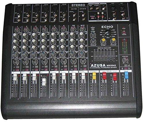 AZUSA PMQ-2110 DJ Mixer mit Verstärker