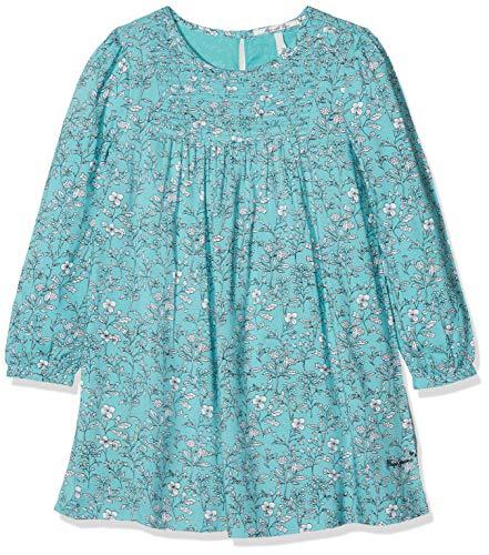 Pepe Jeans Mädchen Kleid Raina Jr, Mehrfarbig (Multi Blau 0Aa), 10 Jahre