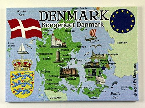 Kühlschrank Einkaufsliste Magnet : Magnet dänemark einfach finden auf magnete 24.de!