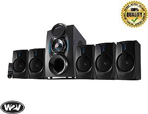 Zebronics Zeb - Bt9451 Rucf 5.1 Multimedia Speaker Home Theater System For Desktop, Laptop, Led Tv, Dvd Player, Projector