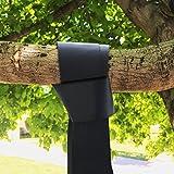 EXTSUD 1 Paar Swing Hanging Gurt Kit Aufhängeset Befestigungsset Hängesessel für Hängematte,Schaukeln an Bäumen 3Mx2 mit 2xKarabiner