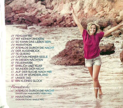 incl. Boni (Atemlos Bassflow Mix & Marathon Don Krutscho Mix) (CD Album Helene Fischer, 18 Tracks)